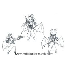 Hullabaloo by James Lopez 2D animation Steampunk project