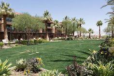 Croquet anyone?  Ritz Carlton #RanchoMirage...