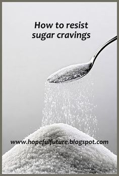 new years resolution involving dieting, losing weight or eating better? great tips on how to resist sugar cravings!