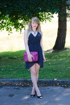 http://raindropsofsapphire.com/2013/08/04/a-navy-polka-dot-dress-for-my-birthday-lunch/