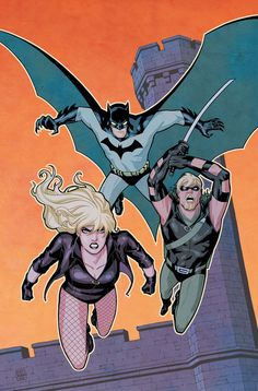 Batman, Black Canary and Green Arrow by Cliff Chiang