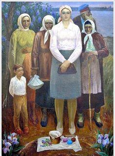 Царев Юрий Иванович (Россия) «Пасха» 1986