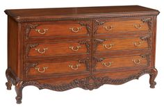 Louis J Solomon Louis XV 6-Drawer Dresser