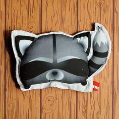 MOCHI -- handmade animal stuffed plush toy -- Tetsu the Raccoon