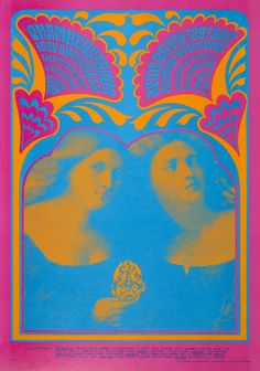 On this day back in The Chambers Brothers & Iron Butterfly at the Avalon Ballroom, rock poster by Victor Moscoso, Master of psychedelic posters & comix. Rock Posters, Band Posters, Music Posters, Vintage Concert Posters, Vintage Posters, Grateful Dead, Easy Rider, Keynote, Victor Moscoso