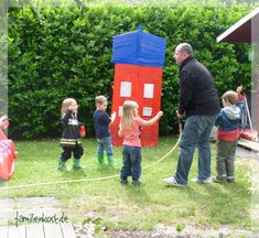Spiel Feuerwehrparty Kindergeburtstag