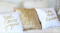 .pretty decorative pillows