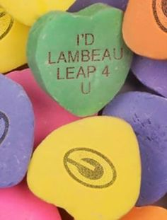 Packer candy hearts