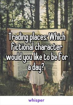 Trading places: which fictional character would you like to be for a day? Do you have a side hustle that works for you? Reading Quotes, Book Quotes, Game Quotes, Journal Quotes, Libra, Books To Read, My Books, Interactive Posts, A Whole New World
