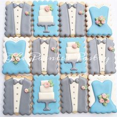 wedding cookie... @thepaintedpastry