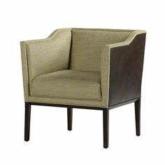 "Baker Furniture : Ridgeback Salon Chair - 6362 : Bill Sofield : Browse Products 28""x28""x30.5"""