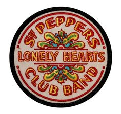 The Beatles Sergeant SGT Peppers  Lonely Hearts Club Band IronOn  Applique Patch #CD