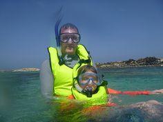 Snorkling at Baby Beach, Aruba by aneta.hall, via Flickr