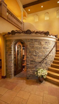 Awesome little room!  What a fantastic spot for a wine cellar!!