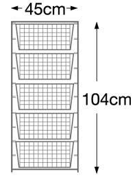 104cm+high+Elfa+Starter+Kit+-+White