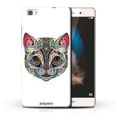 Coque de Stuff4 / Coque pour Huawei P8 Lite / Chat Design / Animaux décoratifs Collection: Amazon.fr: Informatique