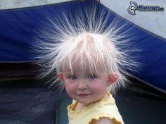 Haare, Elektrizität, Baby, Frisur, Kind