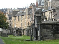 A small cemetery sits in back of the pub.  It's rumored to have the most well-documented poltergeist activity in the world.  We steered clear at night -- a little too creepy for us.