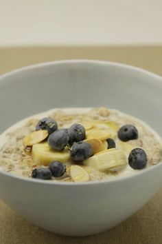 Apple + cinnamon porridge – gluten free