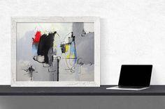 👌-Original Acryl-Malerei auf Papier. Bilder sind auf hochwertigem Papier gemalt bietet natürliche suchen Tönen, Details und schön gesättigten Farben scharfe. Rahmen und Passepartout nicht verfügbar. Gemälde signiert und datiert auf Vorder-und Rückseite. Ich benutze chlorfrei gebleichtem