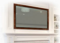 Vanishing Entertainment TV Mirrors
