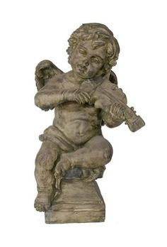 Timeless Reflections by AFD Home 10682771 Garden Cherub with Violin Statue AFD Home http://www.amazon.com/dp/B008VM80FG/ref=cm_sw_r_pi_dp_TwKbvb0STARXE