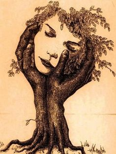**I don't own any of these images - credit is always given when due unless it is unknown to me. If I post your images without your permission, please tell me. Illusion Kunst, Illusion Art, Inspiration Art, Art Inspo, Fantasy Kunst, Fantasy Art, Art Amour, Art Et Illustration, Tree Art