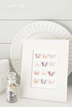 Vacation Memories Seashell Butterfly Specimen Art: 12 DIY Butterfly Crafts You Can Do With Your Kids. Cute and Easy DIY Projects for Butterfly Lovers! Seashell Art, Seashell Crafts, Seashell Display, Seashell Frame, Starfish, Seashell Projects, Driftwood Projects, Driftwood Art, Deco Nature