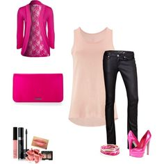 """""""Cyclapink"""" (cyclamen & pink outfit)"""