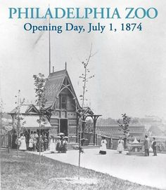 The Philadelphia Zoo opened 140 years ago today Philadelphia History, Historic Philadelphia, Visit Philadelphia, Philly Style, South Philly, Best Vacation Destinations, Far Away, Great Places, The Neighbourhood