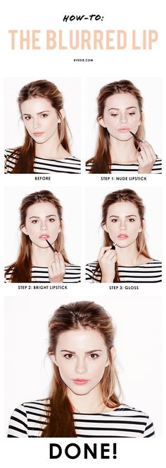3 steps to a blurred lipstick look that works in real life