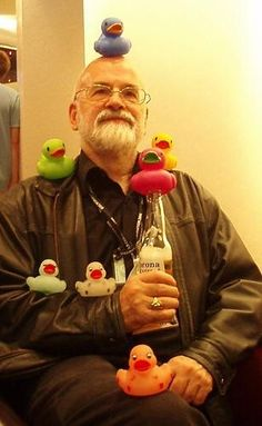 What duck? Terry Pratchett