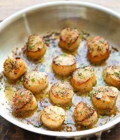 Kusina Master Recipes: Lemon Butter Scallops