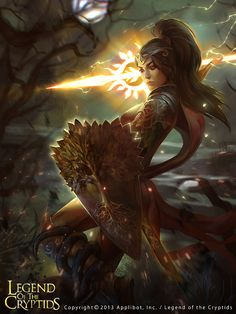 Legend of the Cryptids by Grafit , via Behance