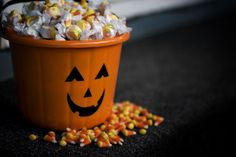 43 Free Halloween Party Games for Adults: How Many Halloween Candies Guessing Game