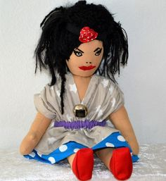 Puppe  von pipinja auf DaWanda.com