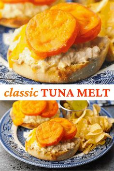 This classic Tuna Melt recipe is an easy and satisfying lunch or dinner. Tuna Salad Recipe | Tuna Recipes | Canned Tuna Recipes | Sandwich Recipe Canned Tuna Recipes, My Recipes, Classic Tuna Melt Recipe, Tuna Melts, Tuna Salad, Sandwich Recipes, Sandwiches, Magic Recipe, Recipe Link