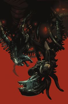 Aliens: Fire And Stone 1 variant cover by Fiona Staples
