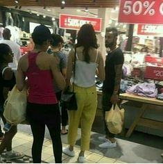 Shopping time for Virat Anushka in South Africa