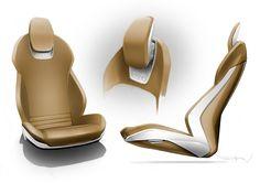 Audi e-tron concept for DETROIT 2010 / Lead Interior Designer / FLATAU