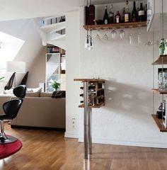20metriquadri: Un piccolo angolo bar... wine nook