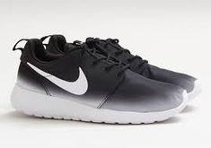 Nike Roshe Run | Ombre black & white