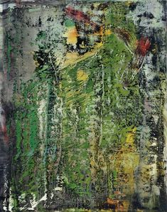 Gerhard Richter » Art » Paintings » Abstracts » Abstract Painting » 666-1