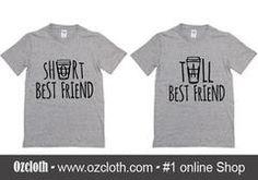 Short Best Friend Tall Best Friend T-Shirt Couple