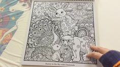 Colouring book by Lynda Bell