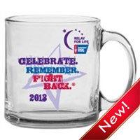 #RelayForLife Glass Mug; $3.75