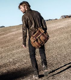 The Belstaff Colonial Messenger Bag Is Still One Of Most Iconic Men S Bags Made Famous