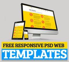 Free Responsive PSD Web Templates