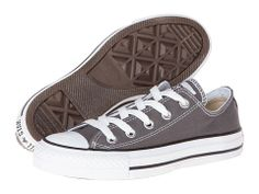 Size 8.5 in Converse according to god. Converse Chuck Taylor® All Star® Core Ox Charcoal - Zappos.com Free Shipping BOTH Ways