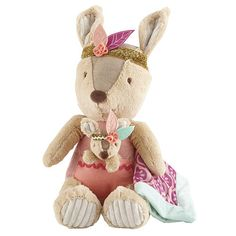 "Levtex Baby Kalista Kangaroo Plush with Blanket - Levtex Baby  - Babies""R""Us"